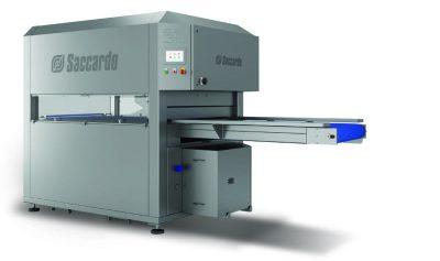 Μηχάνηματα συσκευασίας κενού αέρος SACCARDO τύπου AS 38 1000 - Saccardo