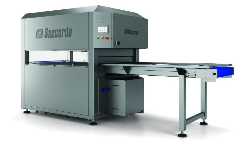 Μηχάνηματα συσκευασίας κενού αέρος SACCARDO τύπου AS 38 1500 - Saccardo