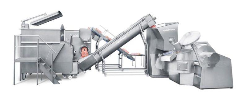 Γραμμή παραγωγής για βραστό λουκάνικο και άλλα προϊόντα γαλακτώματος 1 - Seydelmann