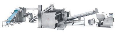 Γραμμή παραγωγής για βραστό λουκάνικο και άλλα προϊόντα γαλακτώματος 3 - Seydelmann