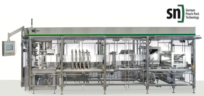 Νέα συνεργασία και αποκλειστική αντιπροσωπεία – SN Maschinenbau – Pouch packaging