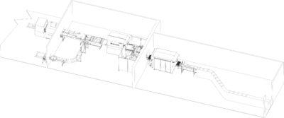 γραμμή παραγωγής με συσκευασία κενού (βάκουμ)
